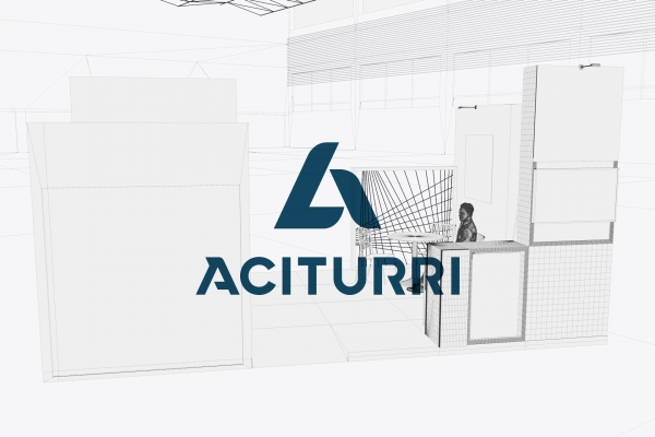 Design of commercial stands for Aciturri