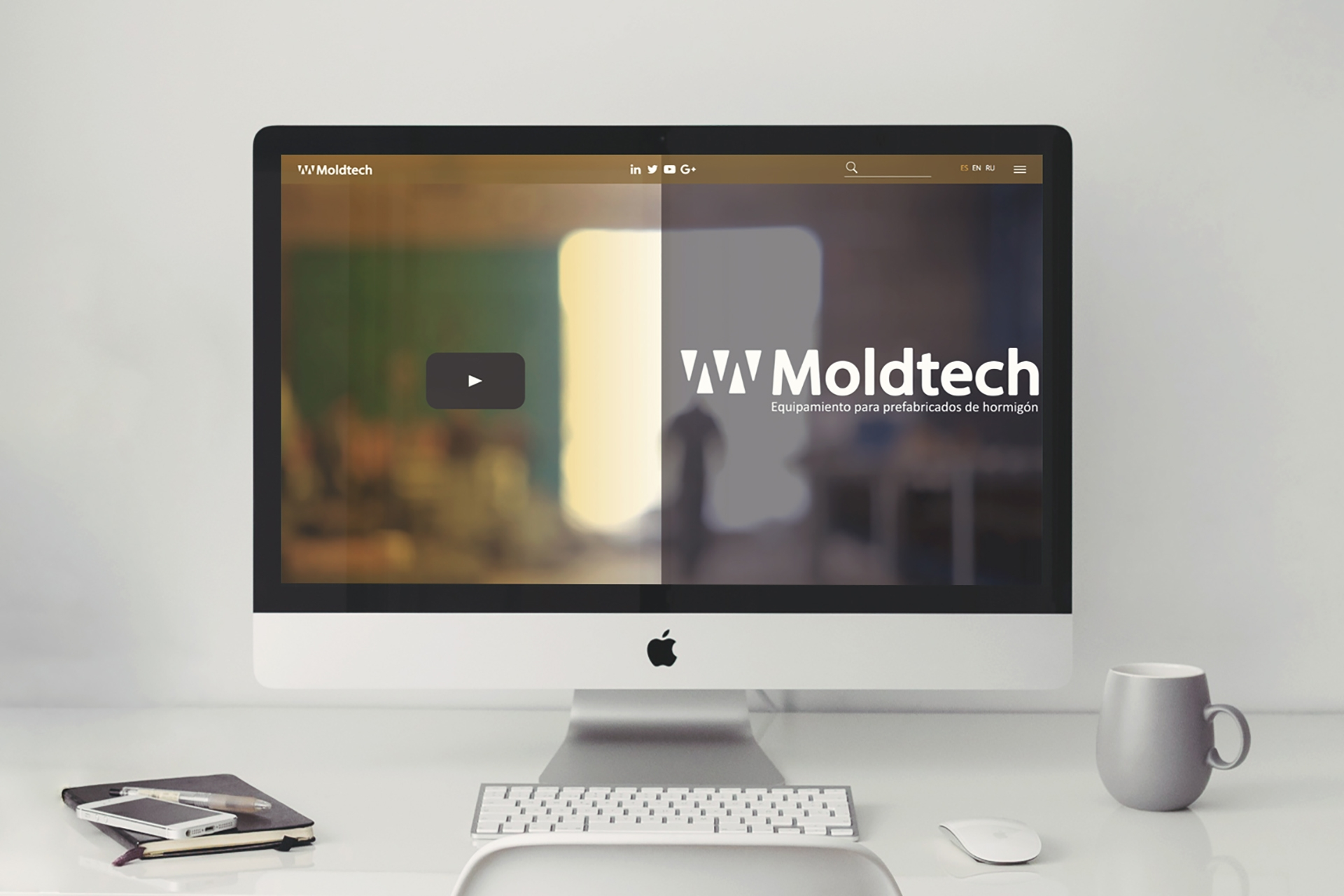 New web for Moldtech